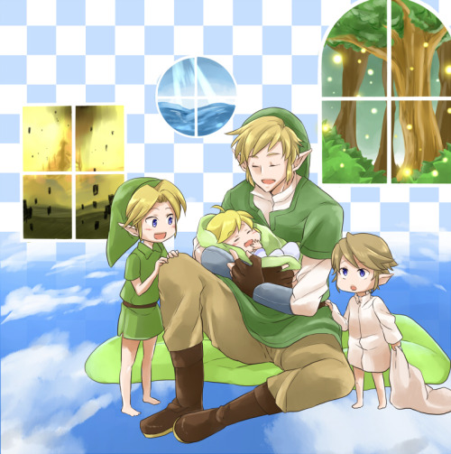 Note: Link Making Faces is not responsible for any cute-induced health issues that may occur after viewing this picture. (by まかろにお)