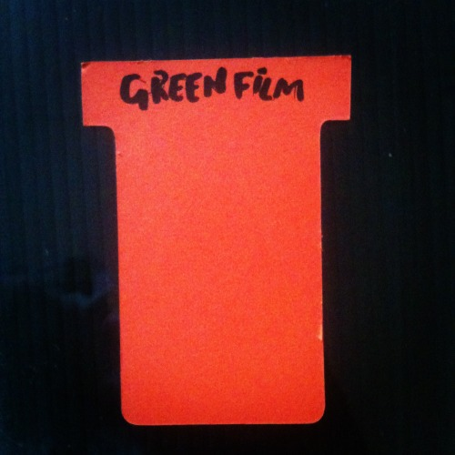 The Green Film Scrapbook