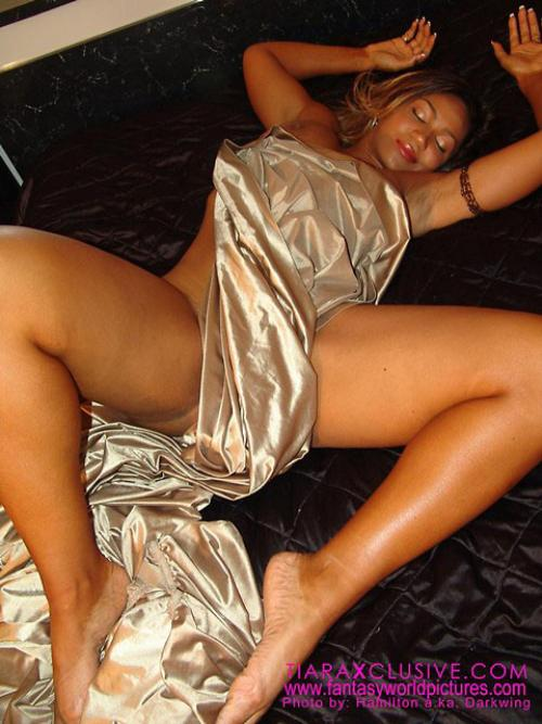 Tiara Harris Satin Sheets