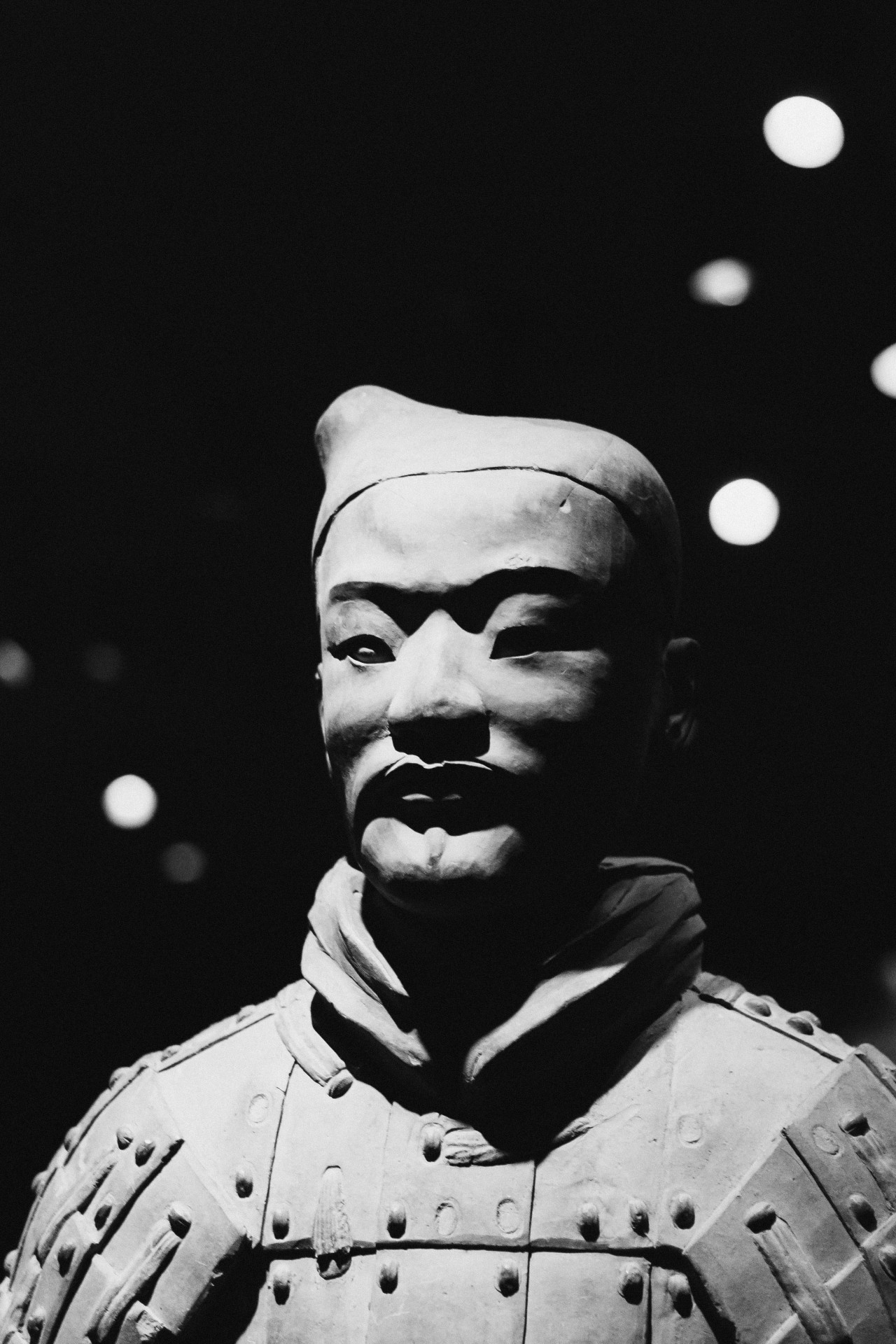 gheedsgreed:  Terracotta Warriors exhibit at the Asian Art Museum in San Francisco  Whoa, we've seen a ton of photos from the public of the warriors but not so many stark black and white ones. Our exhibition is on view until May 27. We recommend coming on a Thurs night when you can see this incredible exhibition for just $10.