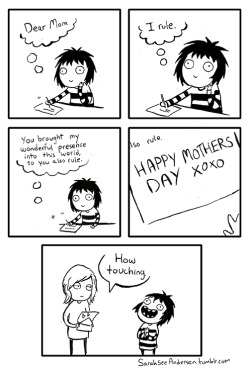 Happy mother's day everyone!!