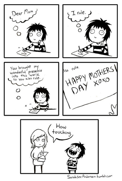 sarahseeandersen:  Happy mother's day everyone!!