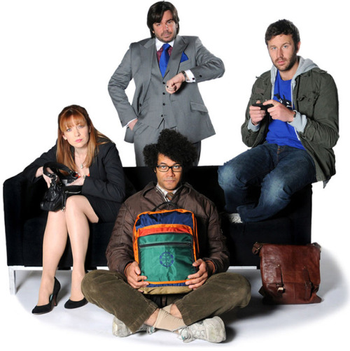 IT's back!The IT Crowd returns for one more episode!