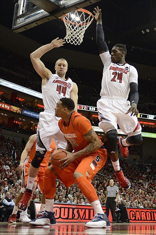 cbssports:  FINAL: No. 6 Syracuse Orange 70, No. 1 Louisville Cardinals 68How high should Syracuse be ranked next week?
