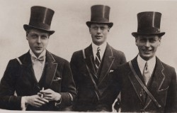 Three charming brothers : Princes Edward, Henry and Albert,