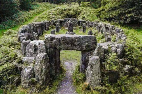 heathenhippy:Druid's Temple, North YorkshireBucket list. Visit standing stones (aka walk naked amongst standing stones).