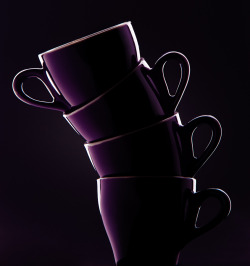 "mlsg:  nakamagome2:  ""Cups"" by Adam Sewell   Simplicity in purple"