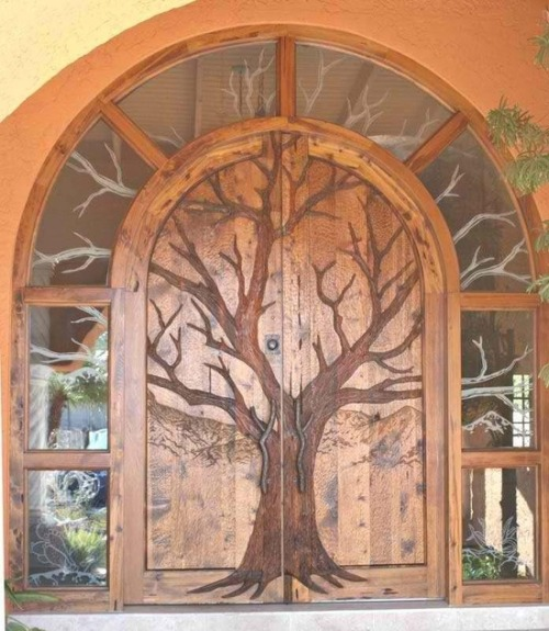 melodysmuse:  Forest Door