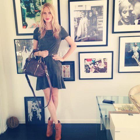 Poppy Delevingne in head to toe @RachelZoe