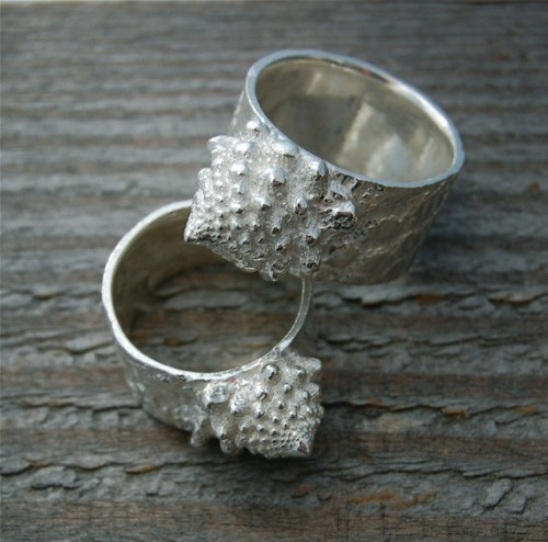 ROMANESCO RING  (via silver ring fractal made in america romanesco by lynncobb on Etsy)