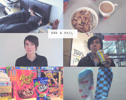 a day in the life of Dan & Phil