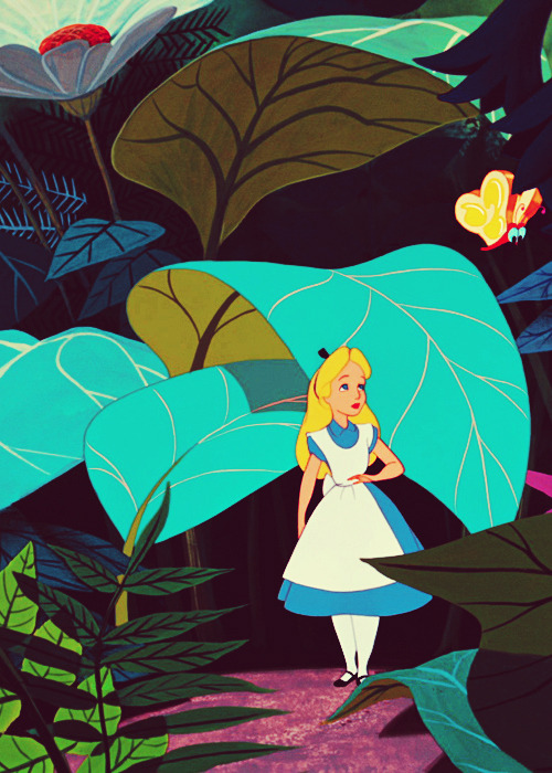 vintagegal:  Alice in Wonderland (1951)