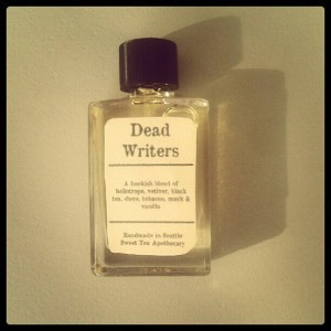 "inothernews:  scribnerbooks:  Perfumes inspired by dead writers.  ""It was the best of scents; it was the worst of scents."""