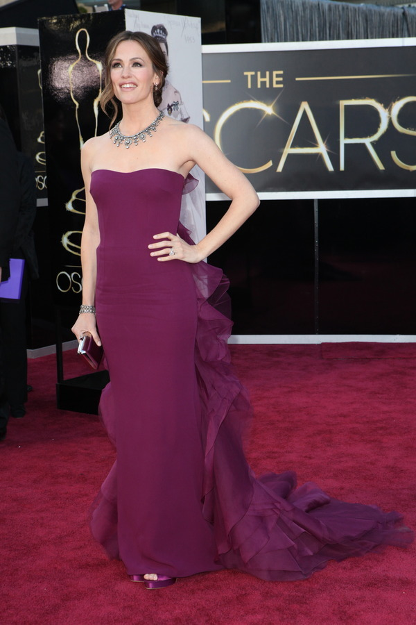 The Oscars Red Carpet 2013: Jennifer Garner. Photo: New York Times.