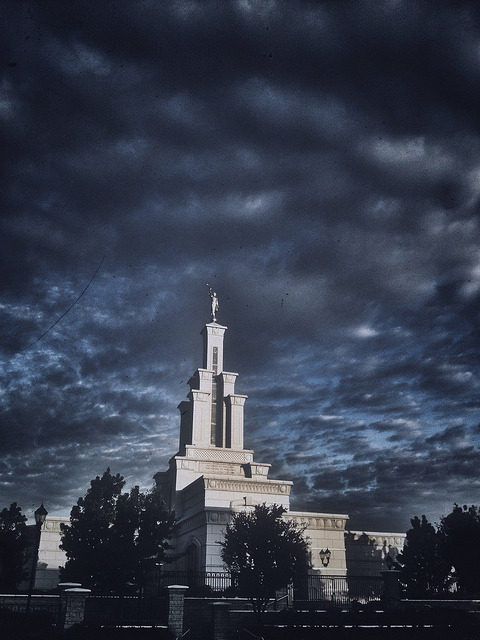 Columbia River LDS Temple on Flickr.