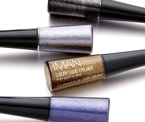 IMAN vitamin E enriched Luxury Liquid Eyeliners is the answer to your Summer glam nights! #WhatSayYou #IMANFeature Check it out Here: http://bit.ly/16ZXS07  -IMAN Beauty Girl