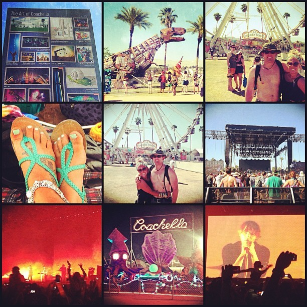 Coachella day two, in the bag. Off to the silent dance party. #coachella2013 #coachellamania #perfectday #iwanttoliveinamusicfestival  (at Coachella Car Camping)