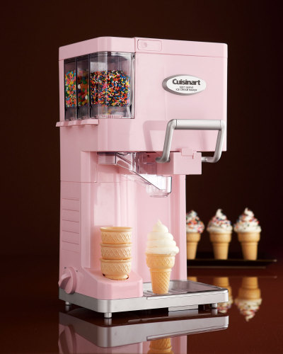 Get yourself a Cuisinart Soft Serve Ice Cream Maker, so you can enjoy ice cream any time.
