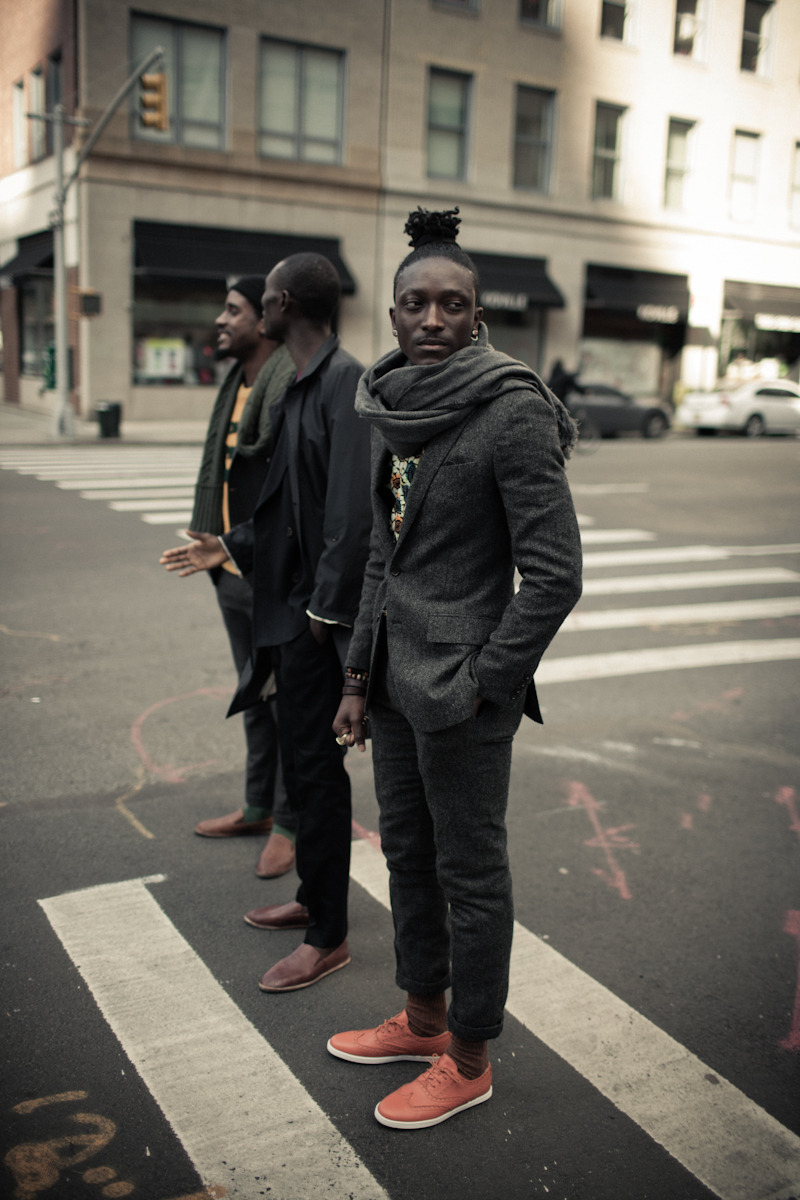 streetetiquette:  Feature Etiquette : Armando Cabral  Myself, Trav and Armando.