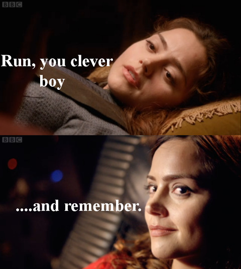 I am still not sure how I feel about the character of Clara, but I must say Jenna-Louise Coleman was ridiculously charming on the Nerdist podcast.