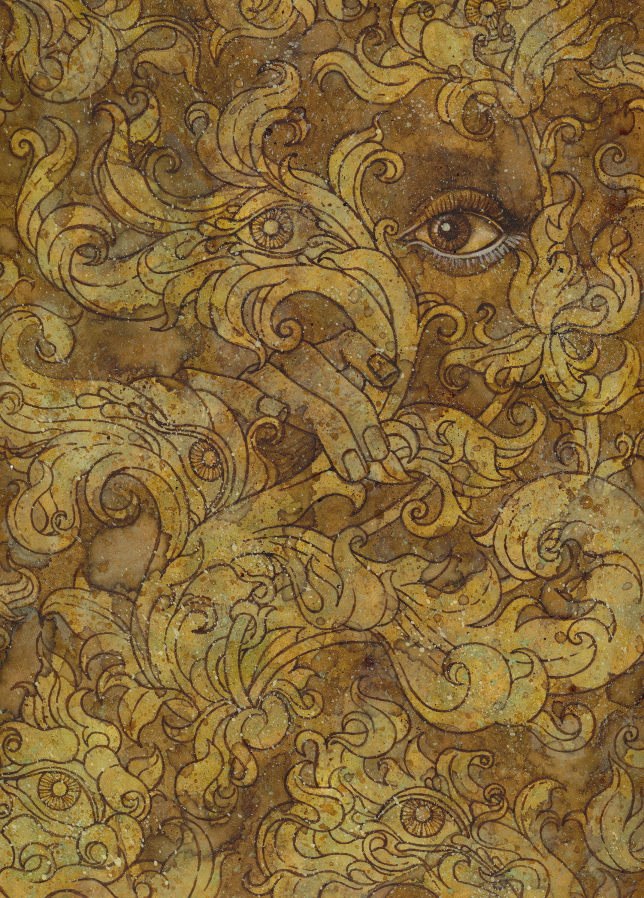 esther coonfield — The Yellow Wallpaper The Woman In the Wall