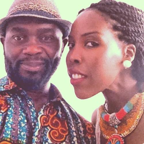 With the Director and Founder of Africa Fashion Day Berlin <b>Beatrace Oola</b> at <b>...</b> - tumblr_n8dw6lgu9V1qlytsko1_500