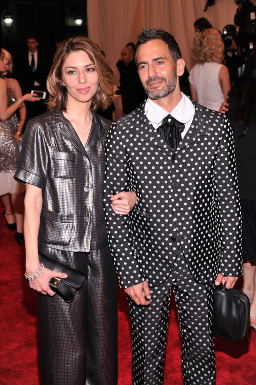 Sofia w/ Marc Jacobs at the Met Gala