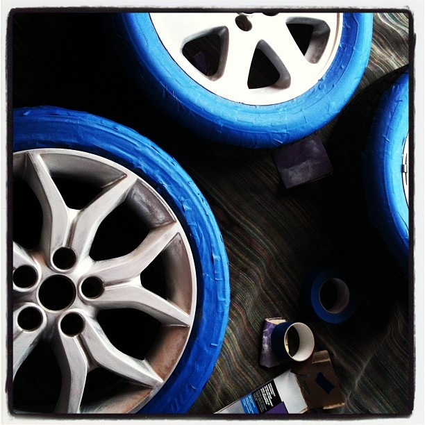 Modding my color #hyndai #honda #jdm #rims