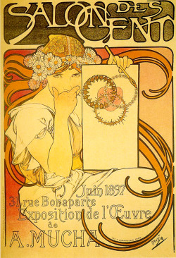 muchofmucha:   Alphonse Mucha - Salon of the Hundred