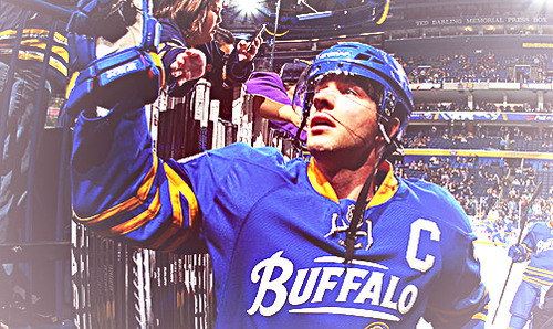 Thanks for being a tremendous addition to the Buffalo Sabres and for being a great captain to this team, Pommers.  We wish you all the best in Minnesota!  Wild fans, take good care of this one.