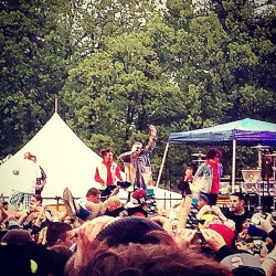 Macklemore! (at Skate And Surf Festival)