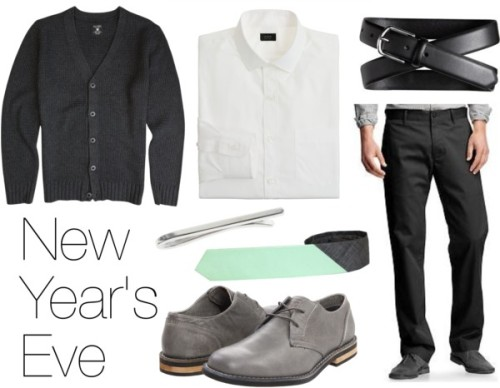 Is your new year's resolution to dress even better than you already do? Get a jump start on your goal by donning this classy outfit to your champagne-filled celebration. The Details »