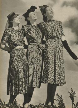 1940 magazine fashionvia jan williemson