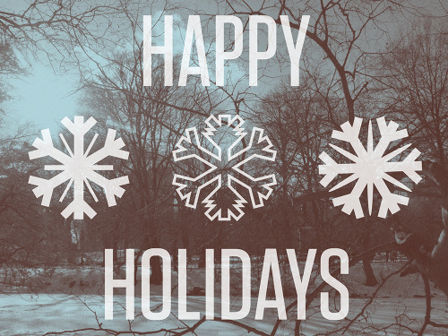 positivecollective:  staymighty:  its snowing!    happy holidays all.