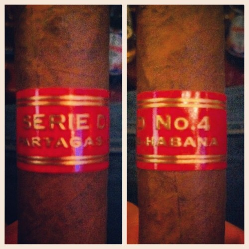 Partagas Serie D No. 4 Habana (at The Tobacco Shop)