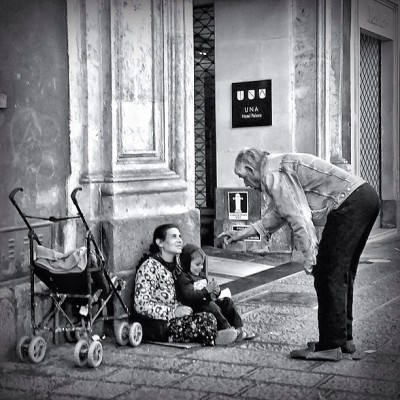 Charity… Catania, May 2013… #iphoneography #doyouinspire