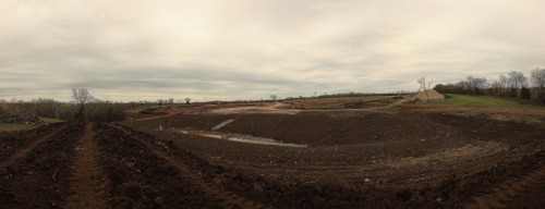 Photo of the day: A lovely panorama shot of the ground breaking of the Rock Chalk Park. Story here.  Richard Gwin/Journal-World Photo