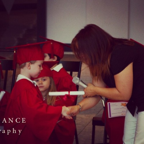 My Rush graduating from pre-k :)