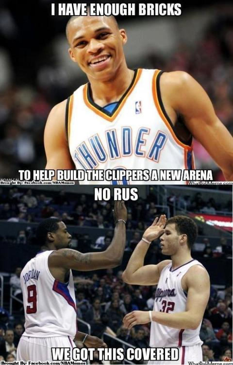 Westbrook helping the Clippers?