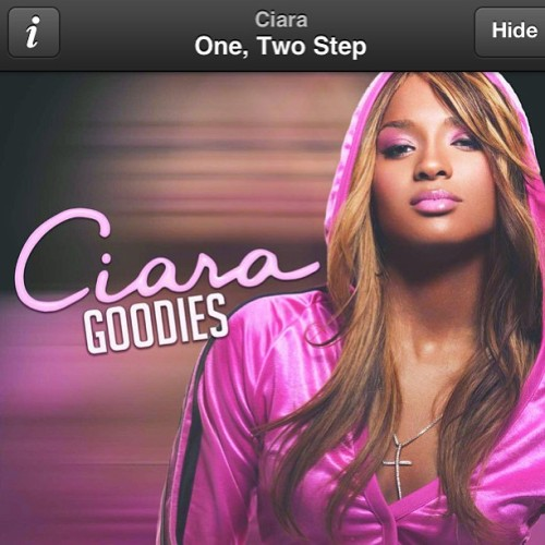 Let me see you 1,2 step. #ciara #gymflow #gymsoundtrack #oldie #goodies #motivation