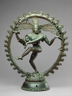 darksilenceinsuburbia:  Shiva as Lord of Dance (Nataraja), Chola period (880–1279), Tamil Nadu.     (Via)