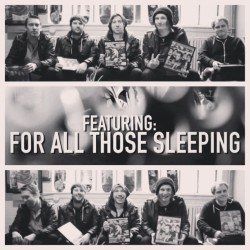 Have you checked out the latest AP Off The Wall with @forallthosesleepingofficial? Watch it now on altpress.com/features! #APvideo