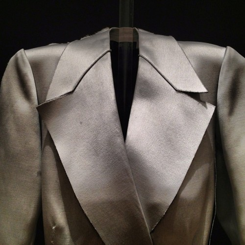 calvinklein:  Detail, Spring 2013 Calvin Klein Collection jacket. (via .@bryanboycom (Bryan Boy) 's Instagram photos | Webstagram - the best Instagram viewer)