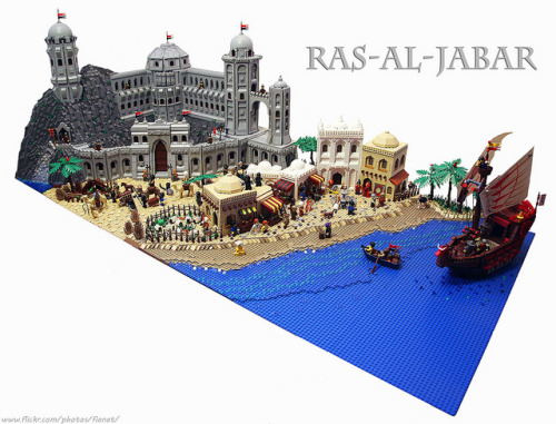 legoexpress:  CCCX Ras-al-Jabar by Fianat on Flickr.