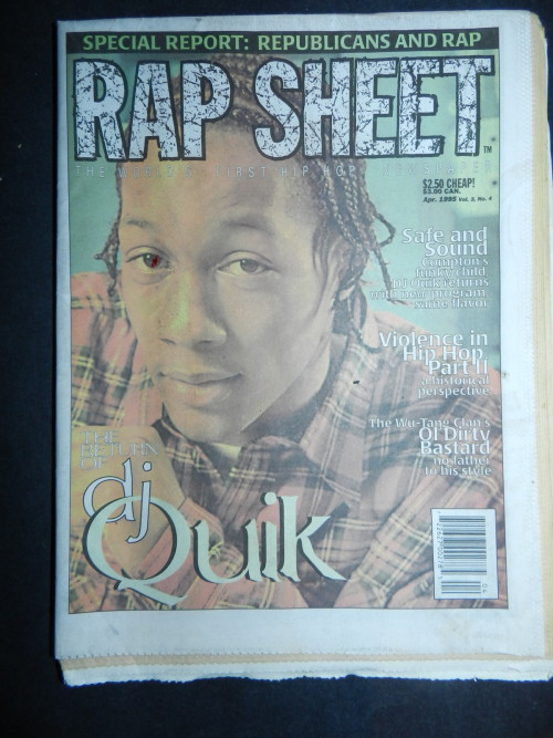 DJ Quik, Rap Sheet, April 1995