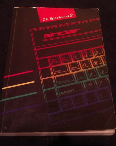 asortofcyberman:  My trusty old Spectrum manual….that I never read. I just played games.   Did anyone ever read this? ;)