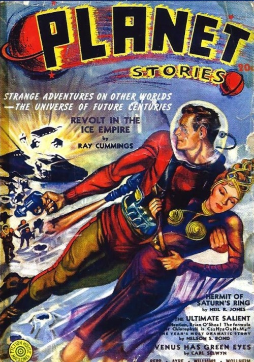 scarlettshazam:  Planet Stories, Spring 1947