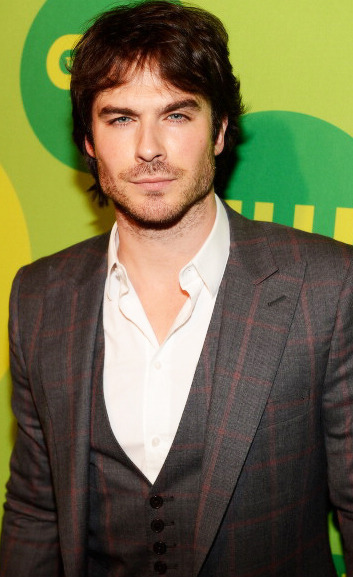 Ian Somerhalder on CW Upfronts in NY (May 16, 2013)
