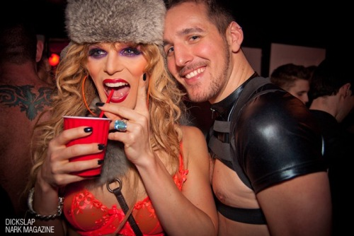 Gettin' slap happy with Willam at the Eagle. Ain't she pretty?! :)