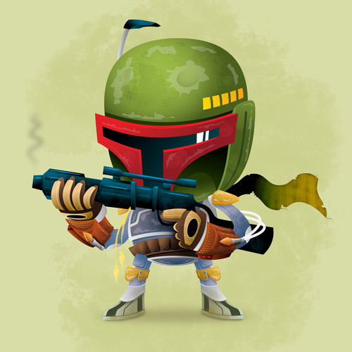 Mini Super Deformed Boba Fett By Ryan Marshall http://bit.ly/XhGpJK Source Ryan Marshall's Boba Fett is rather cool and we thought worth sharing. Nicely done Ryan! Thanks to Tie Fighters for the share.Related Fly Posts